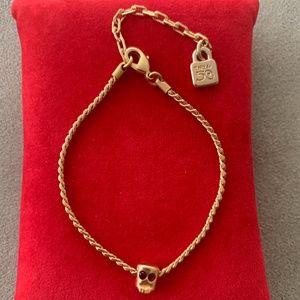 NWT UNO de 50 Gold-Plated Bracelet Selfie PUL1304.